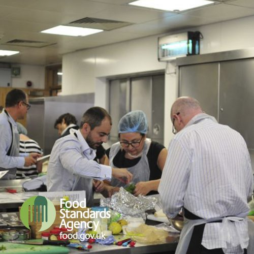 Food Standards Agency annual cookery team build