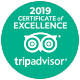2018 Certificate of Excellence - TripAdvisor
