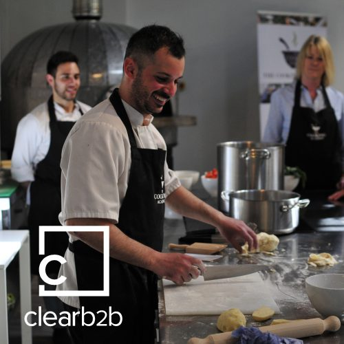 Clearb2b Italian masterclass cooking class