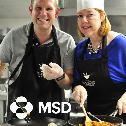 MSD leadership and development cooking event