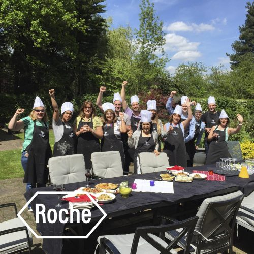 Roche cookery team away day event
