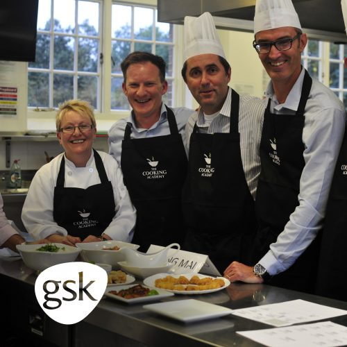 GSK cookery leadership and development training at The Cooking Academy St Albans