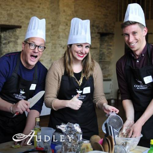 Annual meeting with Audley Travel at the Cooking Academy Oxford