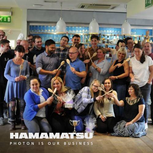 Cooking team building away day with Hamamatsu at The Cooking Academy Hoxton