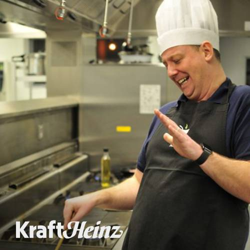 International team building cookery event with Kraft Heinz