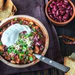 bean chilli con carne healthy vegetarian recipe healthy simple quick beans