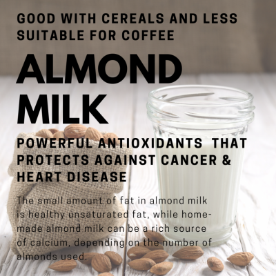 plant based milk almond milk climate change environment healthy vegan