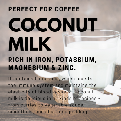 plant-based coconut milk climate change environment healthy vegan
