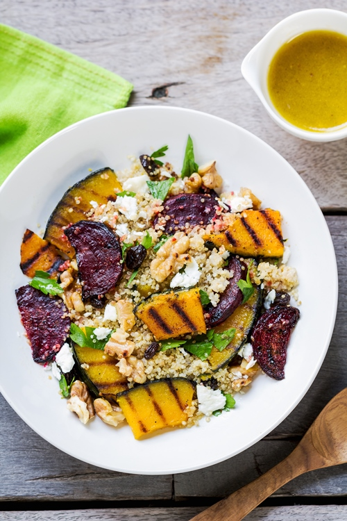 colourful vegetable dish