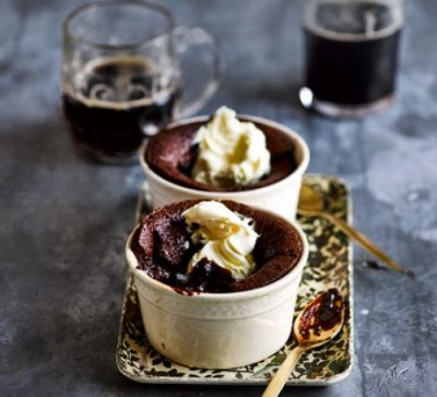 guinness chocolate puddings